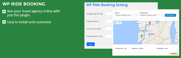 WP Ride Booking